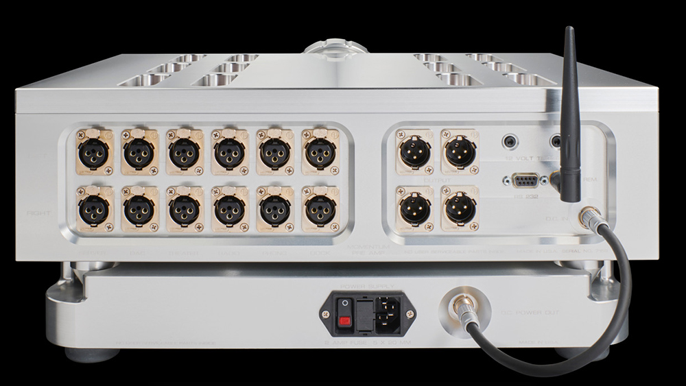 Momentum Preamplifier | Products | Dan D'Agostino | Master