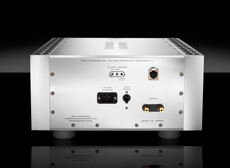 Progression Mono Amplifier Products Dan Dagostino Master High Quality Monoblock Power