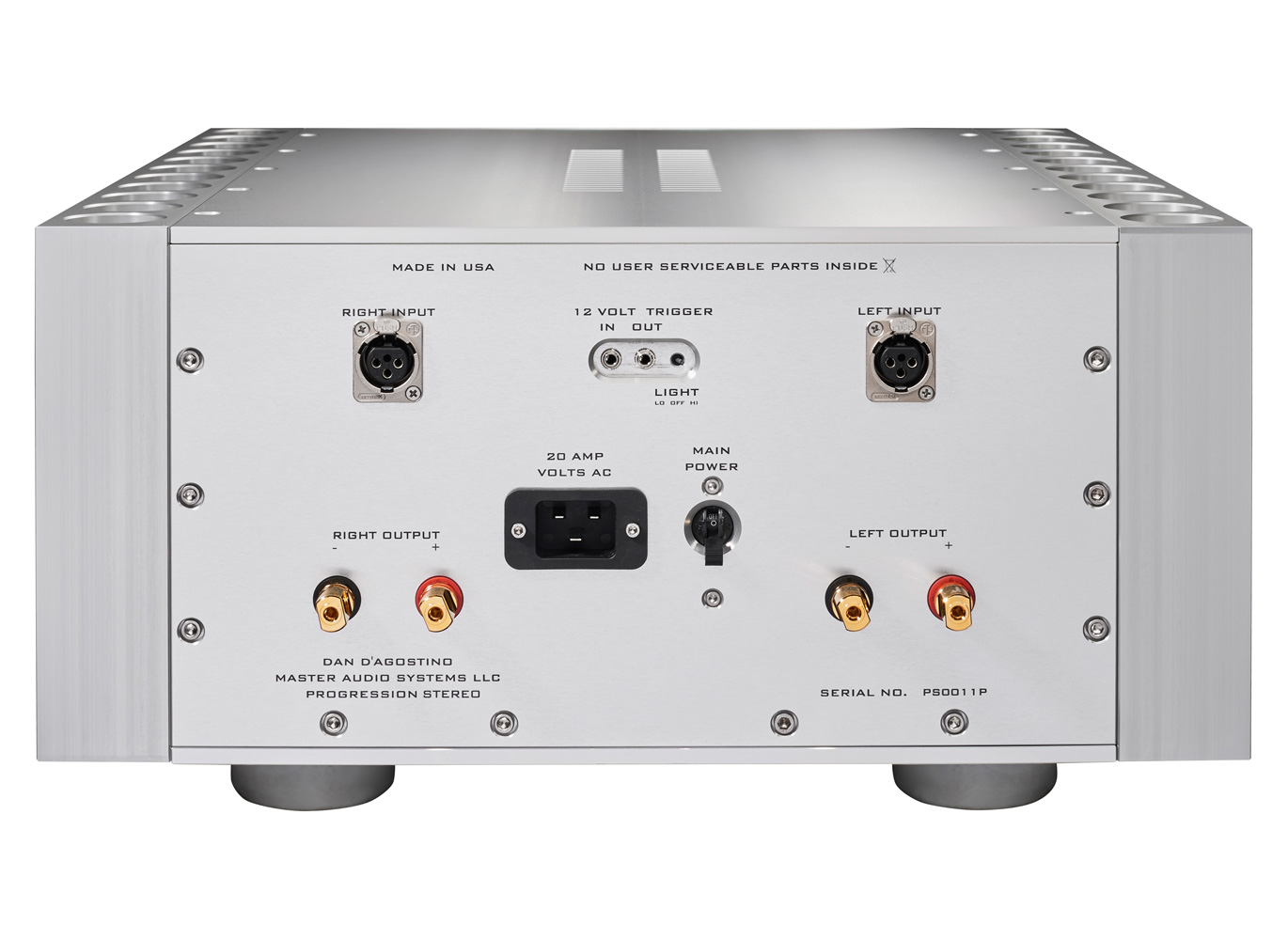 Progression Stereo Amplifier Products Dan Dagostino Master Audio Amplifiers Every Employs A Voltage Rail Actually Two Positive One And Its Companion Negative Partner Rails Support The Delivery Of Power To